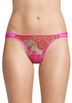 Mimi Holliday Women's Bow Lace Thong