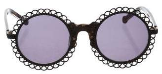 Preen Line Chantilly Round Sunglasses w/ Tags