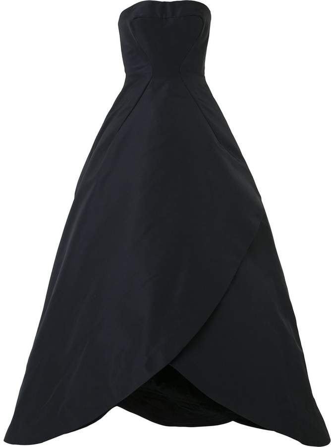 Zac Posen strapless ball gown - ShopStyle Evening