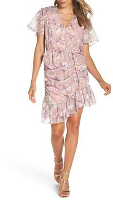 Foxiedox Lilac Ruched Dress