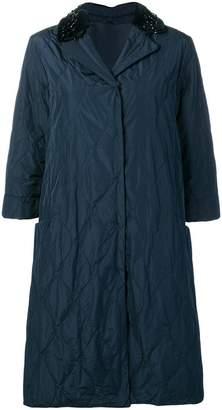 Max Mara oversized quilted coat