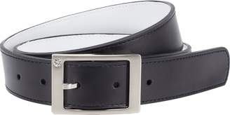 Nike Women's Reversible Leather Belt With Rhinestone Harness