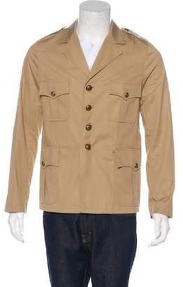 Saint Laurent Military Twill Jacket