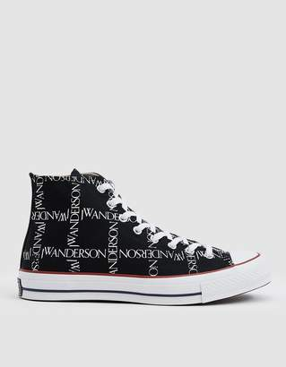 Converse JWA Logo Grid Chuck Taylor 70 High Sneaker in Black