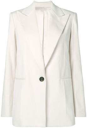 Helmut Lang short buttoned coat