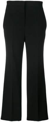 Fendi cropped flared trousers