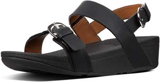 FitFlop Edit Leather Back-Strap Sandals