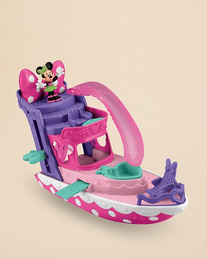Fisher-Price Minnie Polka Dot Yacht - Ages 3+