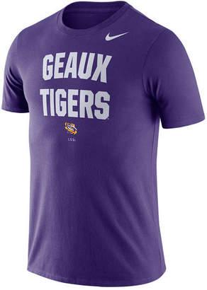 Nike Men Lsu Tigers Dri-fit Local Verbiage T-Shirt