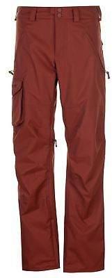 Burton Mens Covert Ski Pants Salopettes Trousers Bottoms Breathable Zip Mesh