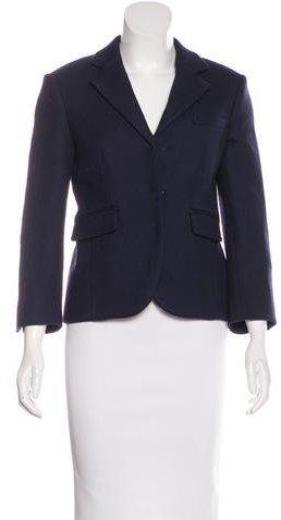 CelineCéline Wool Fitted Blazer