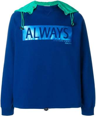 Valentino Always hooded sweatshirt