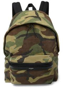 Saint Laurent Camouflage Hunting Backpack