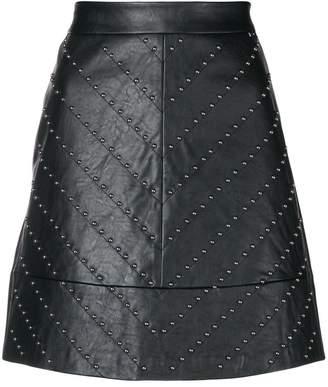 Liu Jo A-line studded skirt