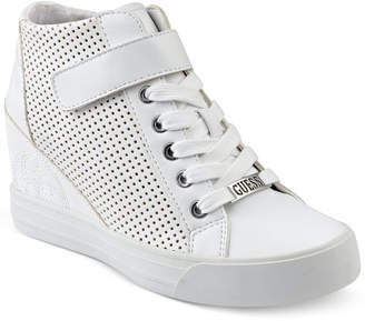 GUESS Women Decia Wedge Sneakers Women Shoes