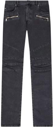 Balmain Biker Slim Jeans