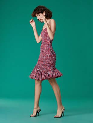 Diane von Furstenberg The Louie Mesh Dress