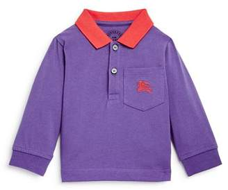Burberry Boys' Color-Block Logo Polo Shirt - Baby