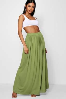 boohoo Basic Floor Sweeping Maxi Skirt