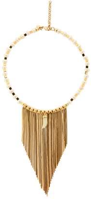 Iosselliani Fringed Pearl & Jade Necklace