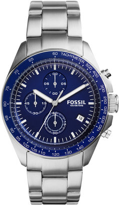 Fossil Men's Chronograph Sport 54 Stainless Steel Bracelet Watch 44mm CH3030 $155 thestylecure.com