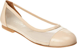 French Sole Alexander Leather Flat