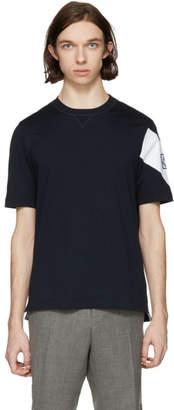 Moncler Gamme Bleu Navy Chevron Logo T-Shirt