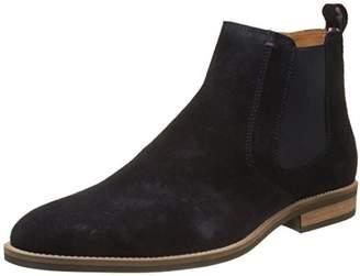Tommy Hilfiger D2285Aytona 4B, Men's Chelsea Boots, Grey (Midnight), (40 EU)