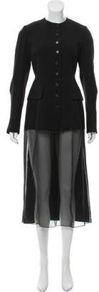 Morgane Le Fay Structured Contrasted Coat