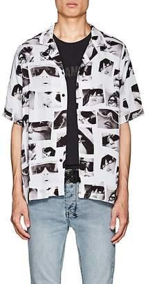 Ksubi Men's Sedation Eyes Twill Shirt