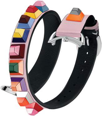 Fendi Selleria 17mm Strap You Leather Watch Strap