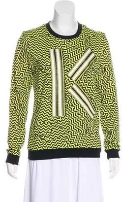 Kenzo Patterned Appliqué Sweatshirt w/ Tags