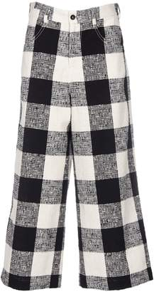 Paul Smith Woven Checked Trousers