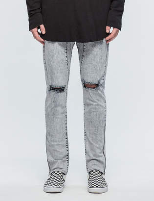 Daniel Patrick Low Crotch Ripped Skinny Jeans