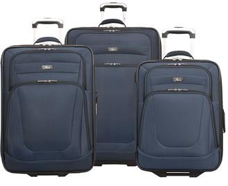 Skyway Luggage Epic 2 3-Piece Wheeled Luggage Set