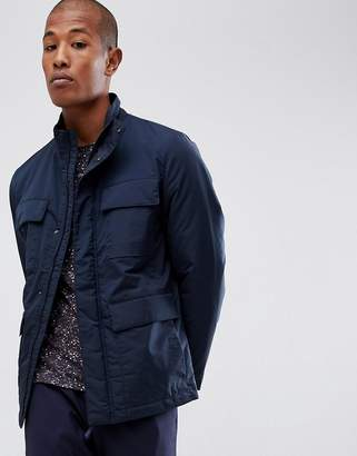 Selected technical jacket with thinsulate lining and multimedia pocket