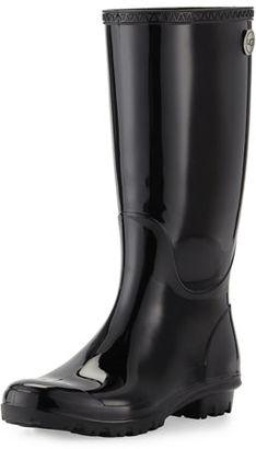 UGG Shaye Rubber Rain Boot $80 thestylecure.com