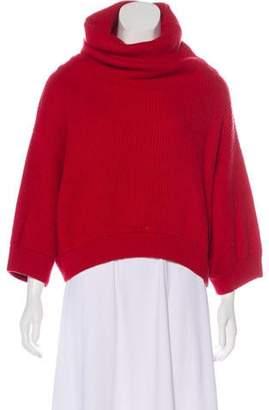 Brunello Cucinelli Cashmere Turtleneck Sweater Red Cashmere Turtleneck Sweater