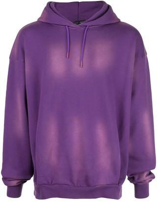 Martine Rose washed details hoodie