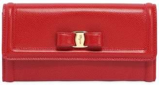 Salvatore Ferragamo Vara Embossed Leather Wallet
