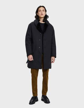 Engineered Garments Shawl Collar Reversible Overcoat