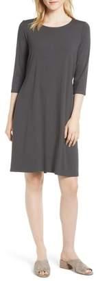 Eileen Fisher Tie Back Dress