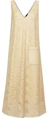 Joseph Margo Cotton-blend Leavers Lace Midi Dress