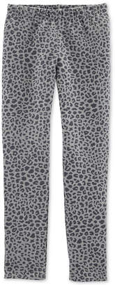Carter's Little & Big Girl Leopard-Print Pocket Pants
