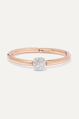 Pomellato Nudo 18-karat Rose And White Gold Diamond Bracelet - Rose gold