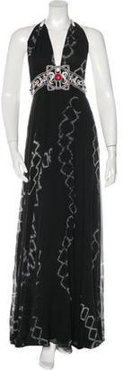 Jenny Packham Tie-Dye Silk Dress $195 thestylecure.com