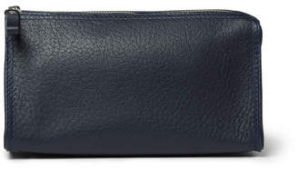 D.R. Harris D R Harris Grained-Leather Wash Bag