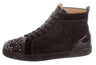 Christian Louboutin Louis Flat Spike Sneakers
