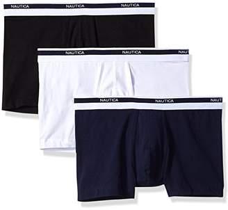 Nautica Men's Classic Underwear Cotton Stretch Trunk