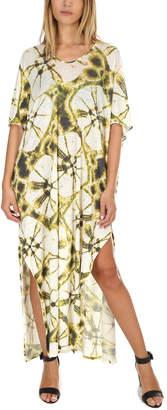 Majestic Filatures Linen Tie Dye Maxi Dress